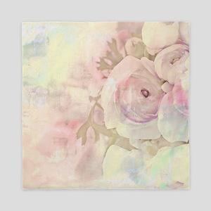 Tender Rose Pastel Queen Duvet