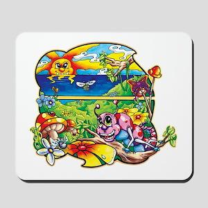 Krazy Kritters Bungalow Mousepad