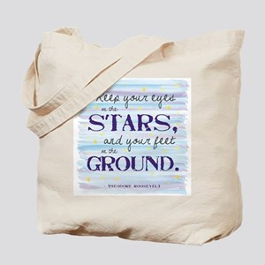 Keep Your Eyes On the Stars Tote Bag