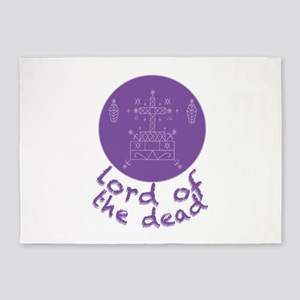 Dead Lord 5'x7'Area Rug