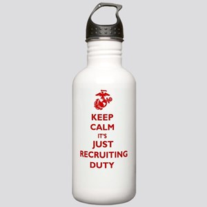 USMC Recruiting Duty  Stainless Water Bottle 1.0L