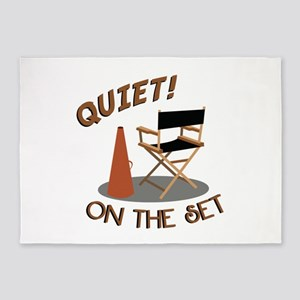 Quiet On Set 5'x7'Area Rug