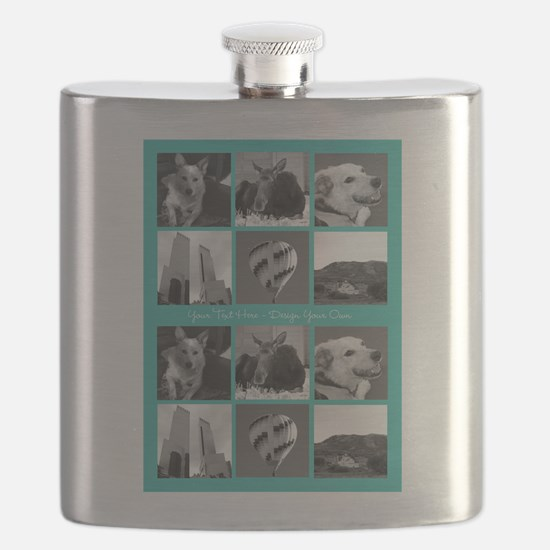Your Photos and Your Text Flask