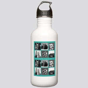 Your Photos and Your Text Water Bottle
