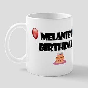 Melanie's Birthday Mug