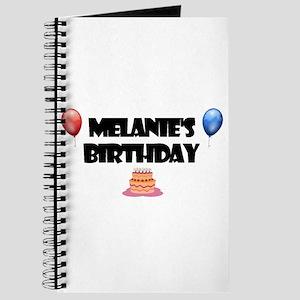 Melanie's Birthday Journal