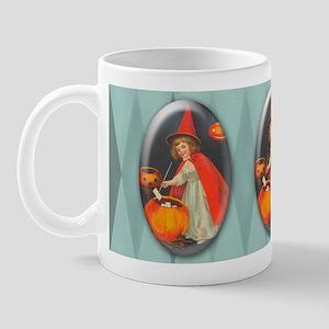 TLK002 Halloween Witch Mug