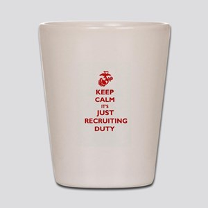 USMC Recruiting Duty Shot Glass