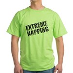 Extreme Napping Green T-Shirt