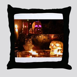 In the Darkness Throw Pillow