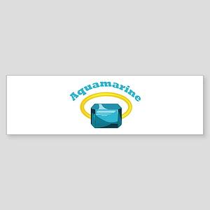 Aquamarine Bumper Sticker