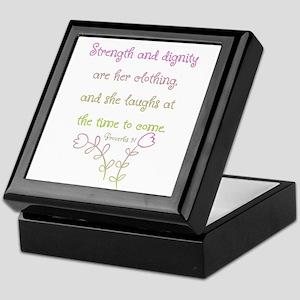 Proverbs 31 woman Keepsake Box