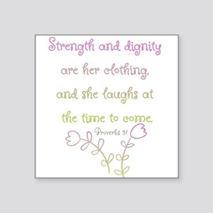 Proverbs 31 woman Sticker