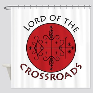Crossroads Lord Shower Curtain