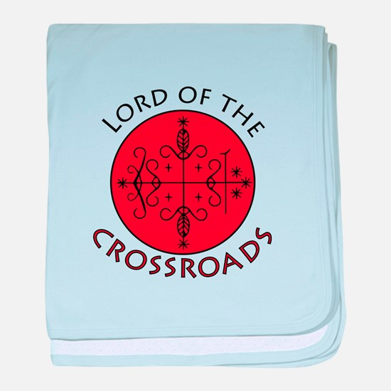 Crossroads Lord baby blanket