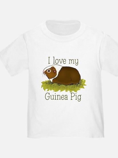 I Love my Guinea Pig T
