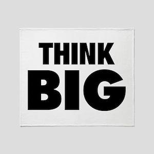Think Big Throw Blanket