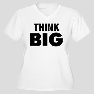 Think Big Women's Plus Size V-Neck T-Shirt