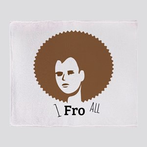1 Fro All Throw Blanket