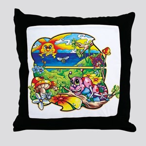 Krazy Kritters Bungalow Throw Pillow
