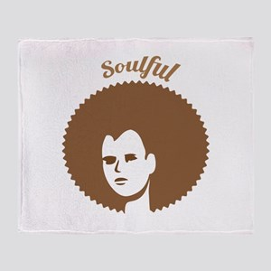 Soulful Throw Blanket