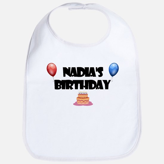 Nadia's Birthday Bib