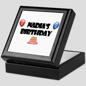 Nadia's Birthday Keepsake Box