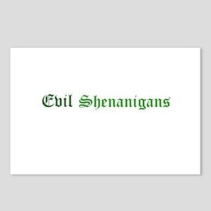 Evil Shenanigans Postcards (Package of 8)