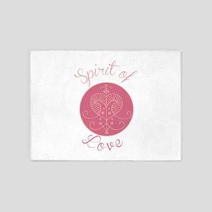 Love Spirit 5'x7'Area Rug
