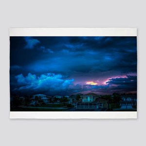 Gorgeous Florida Sunset 5'x7'Area Rug