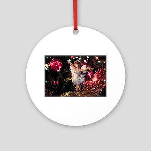 Christmas Fairy I Round Ornament