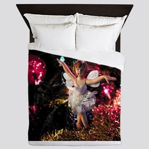 Christmas Fairy I Queen Duvet