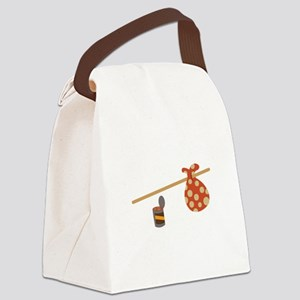 Bindle & Beans Canvas Lunch Bag