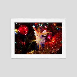 Christmas Fairy II 5'x7'Area Rug