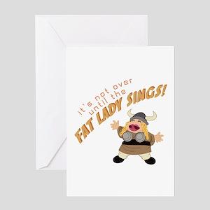 Opera Singer Greeting Cards