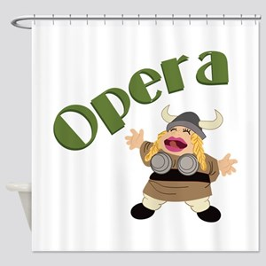 At The Opera Shower Curtain