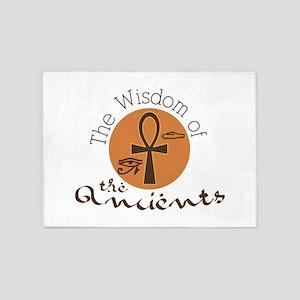 Wisdom Ancients 5'x7'Area Rug