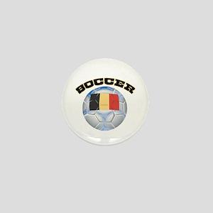 Belgium Soccer Mini Button