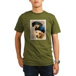 Dachshund (Smooth) Organic Men's T-Shirt (dark)
