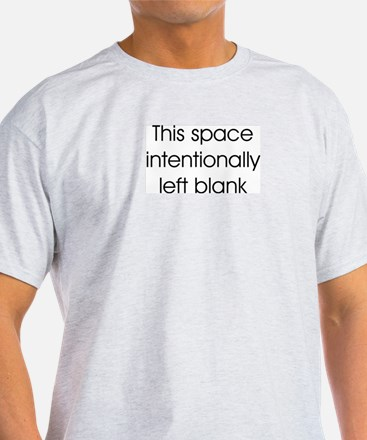 This Space Blank T-Shirt