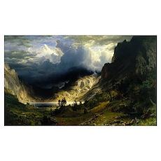 Bierstadt,Mt Rosalie Poster