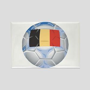 Belgium Soccer (2) Rectangle Magnet