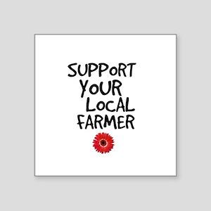 Support Local Farmer Sticker
