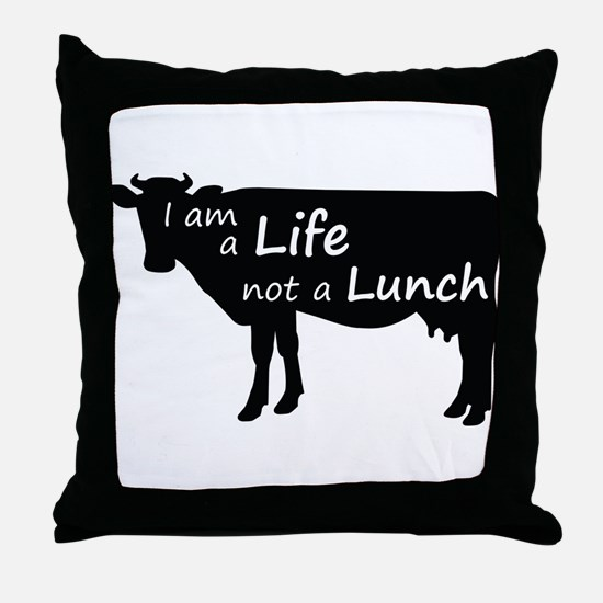 Unique Animal rights Throw Pillow