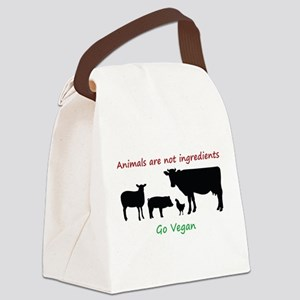 Animals are not ingredients: Go Vegan Canvas Lunch
