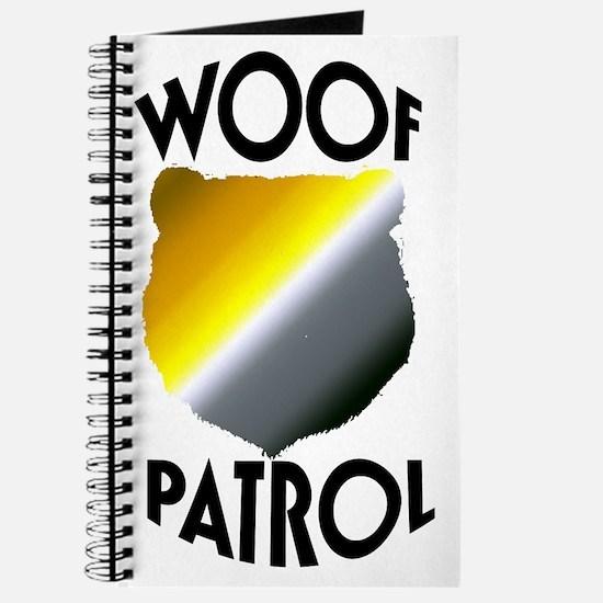 WOOF PATROL Journal