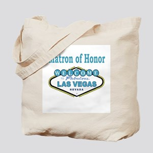 NEW T Blue Matron of Honor Tote Bag