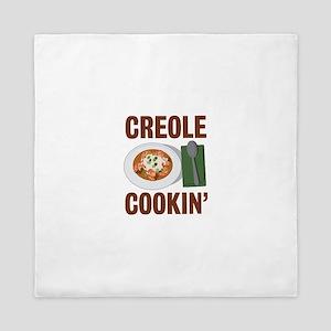 Creole Cookin Queen Duvet