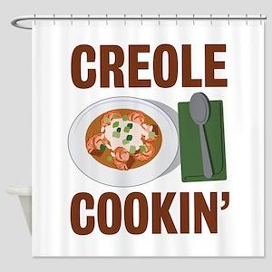 Creole Cookin Shower Curtain