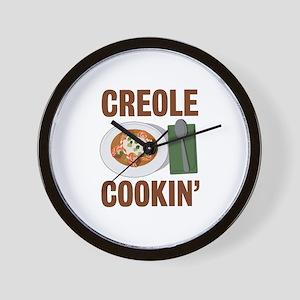 Creole Cookin Wall Clock